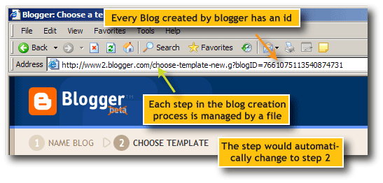blog template choose modify switching between classic modern